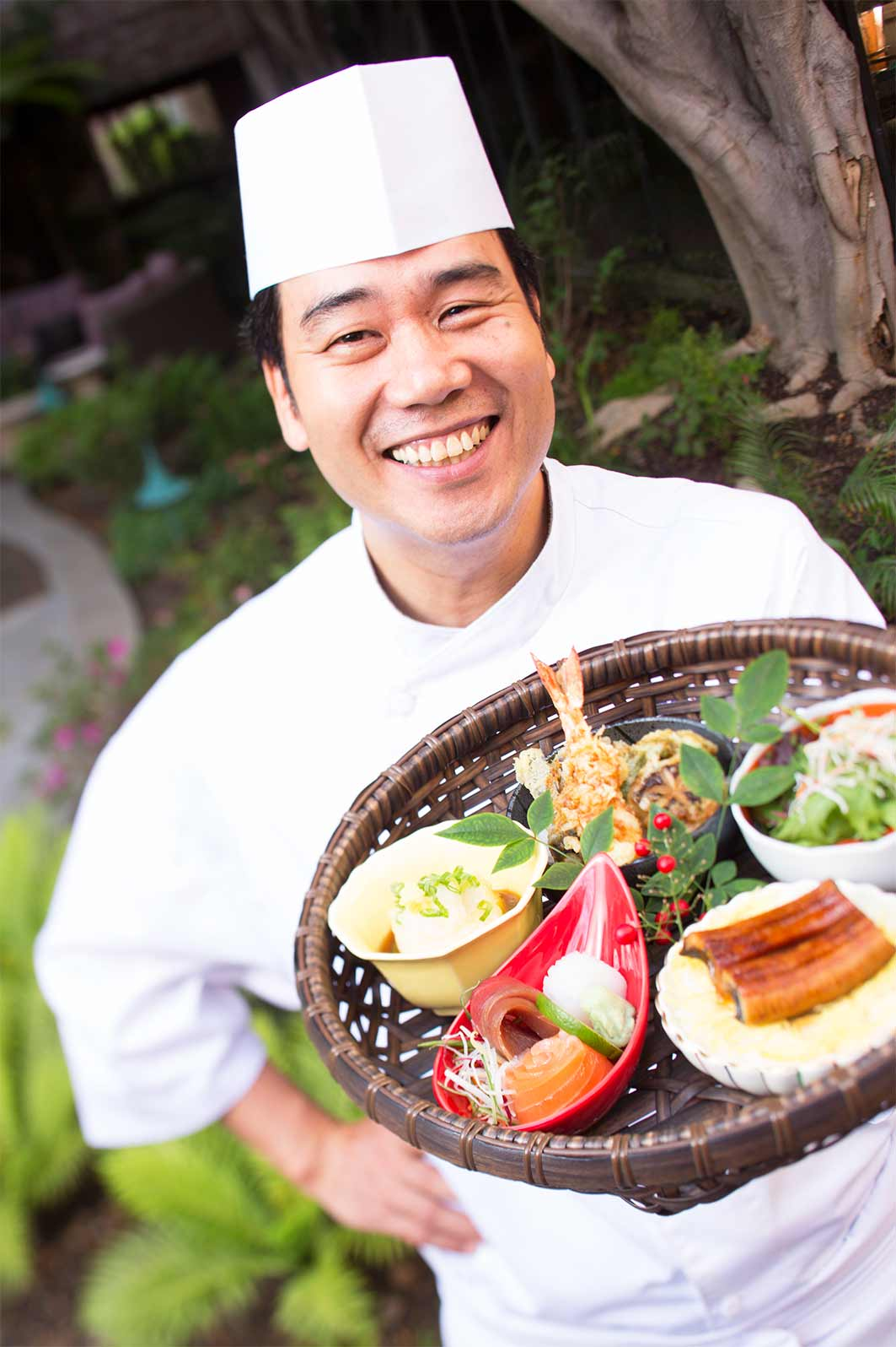 Image of Chef Hiro from Tokyo, Japan showing an example of his food